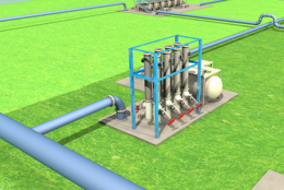 Bilfinger Deodorizing station - oil and gas